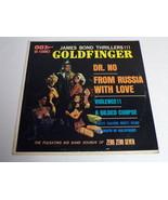 Goldfinger Dr No From Russia With Love Vinyl LP Record Album Zero Zero S... - $18.49