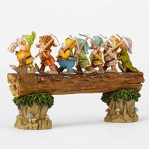 "8.25"" ""Homeward Bound"" Seven Dwarfs Figurine by Jim Shore Disney Traditions image 2"