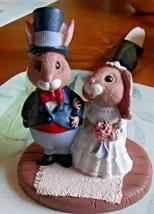 Hallmark Tender Touches Figurine Bride and Groom 1989  - $14.03