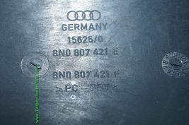 01-05 Audi TT S-Line Rear Bumper Honeycomb Grill Exterior Trim 8N0-807-421-E image 7