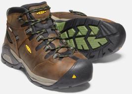 Keen Detroit XT Sz 11 M (D) EU 44.5 Men's WP Steel Toe Work Shoes Brown 1020085