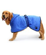 NACOCO Dog Bathrobe Towel Microfiber Pet Drying Moisture Absorbing Towel... - $23.75