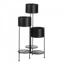 3-tier Barrel Bucket Plant Stand - $74.66