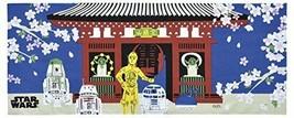 Star Wars Japan Towel Tenugui Sakura Tours 100% Cotton Limited Japan - $30.84
