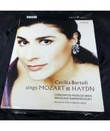 2 DVD Set Cecilia Bartoli BRAND NEW Sings Mozart Haydn BBC Nikolaus Harn... - $34.00