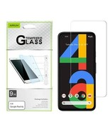 For GOOGLE Pixel 4a Tempered Glass Screen Protector Film Guard Premium C... - $6.44