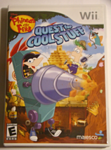 Nintendo Wii - Phineas and FERB QUEST for COOL STUFF (Complete with Manual) - €10,53 EUR