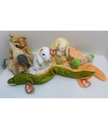TY 2000 Beanie Babies Lot of Six (6) Collectible Beanies - Swoop Glow Ch... - $9.98