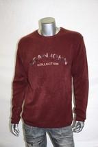 Men's Sean John Expresso   Burgundy 100% Acrilyc Sweater - $98.00