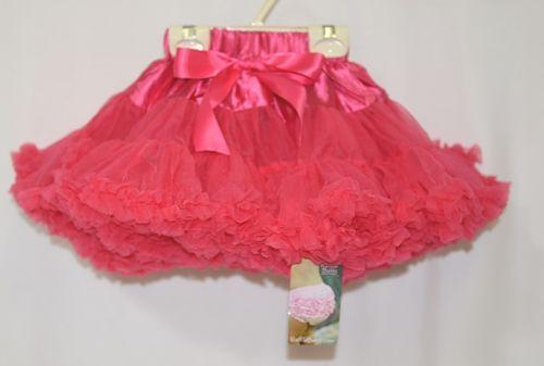 RuffleButts Candy Frilly Fluffy Chiffon Ruffles Pettiskirt Size 24M to 4T