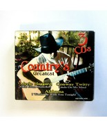 Country's Greatest 3 CD Set - Alabama - Merle - Conway -Lee -CDs Factory... - $15.99