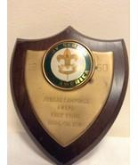 RARE 1960 Jubilee Camporee Award Knot Tying Burlington County NJ Plaque BSA - $39.95