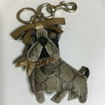 GUCCI Authentic GUCCIOLI Pug Dog Key Ring Bag Charm Used - $239.99