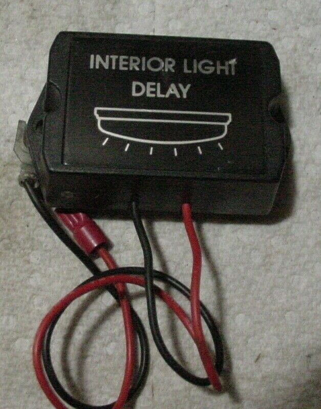 Primary image for Vintage 12V Interior Light Delay Control Module YF703 2 Wire Hookup.
