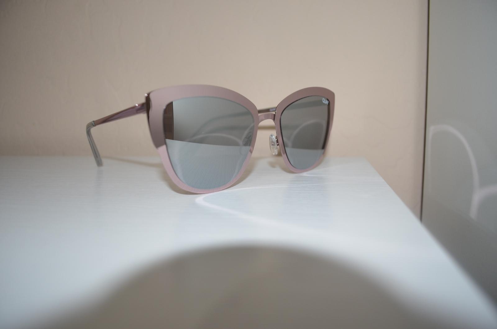 3d1abc1c1d Quay Supergirl Pink Silver Reflective Mirror Cat-Eye Sunglasses BNWT