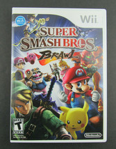 Super Smash Bros. Brothers Brawl (Nintendo Wii, 2008) Complete - $29.95