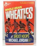 Collectible Unopened Full Michael Jordan Wheaties Cereal Box w/ Shoot Ho... - $49.97