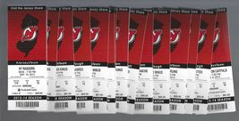 2013-14 NHL NJ Devils Ticket Stubs  - $6.00