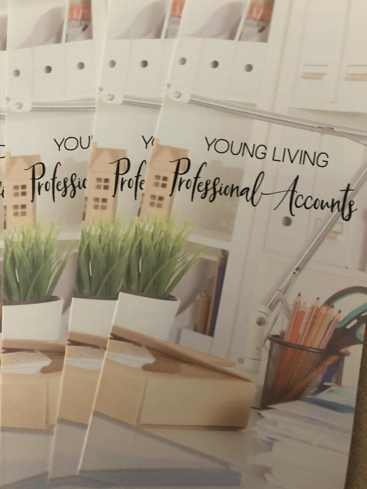 Primary image for 5 Young Living Professional Account Brochures