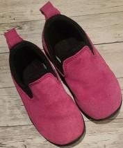 Lands' End ~ Toddler Girl's Size 8 ~ Pink ~ Slip On ~ Flat Shoes - $19.00