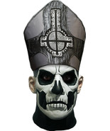 GHOST Band Papa Emeritus Halloween Mask Heavy Metal Trick or Treat Studi... - £84.24 GBP