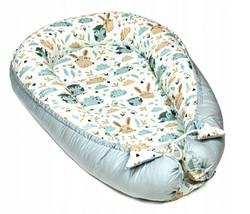 BABY NEST Cozy Cocoon Pod Newborn Reversible Sleeping Bag Cushion Size 7... - $55.00
