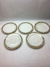 5 pieces GOA  France Haviland limoges plate CHFIELD bread salad 7.5 inch - $29.69