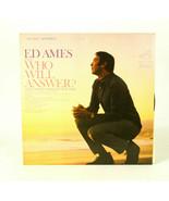 Ed Ames Who Will Answer  LP Vinyl Record Album - $12.86