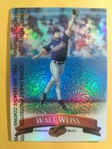 TOPPS FINEST 1998 CARD #183 WALT WEISS - $0.99