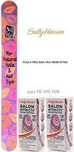 SALLY HANSEN Salon Effects Nail Polish Strips #560 TIE-DYE FOR (PACK OF ... - $14.99