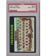 1971 Topps Cleveland Indians Team #584 PSA 8 P618 - $24.11