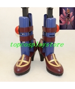 League of Legends LOL The Deceiver Leblanc cosplay shoes from LOL boots ... - $61.00