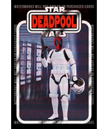 Star Wars Deadpool Stormtrooper 012 - Custom Lego Card Back w/Blister - $5.00