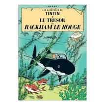 Tintin & Red Rackham's Treasure poster Official large size