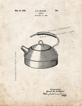 Kettle Patent Print - Old Look - $7.95+