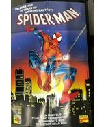 "SPIDER-MAN 30th Anniversary (1992) Marvel Comics 22"" x 34"" promotional p... - $14.84"
