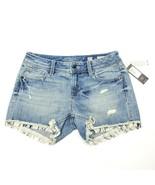 Miss Me Women's Mid Rise Short Shorts Denim Jeans Med Blue Size 27 $89.50 - $77.25