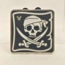 Disney Pin Hidden Mickey Treasure Cove - Pirate Flag skull, swords [118022] - $8.90
