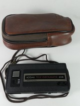 Kodak Tele-Instamatic 608 Camera With Case - $19.39