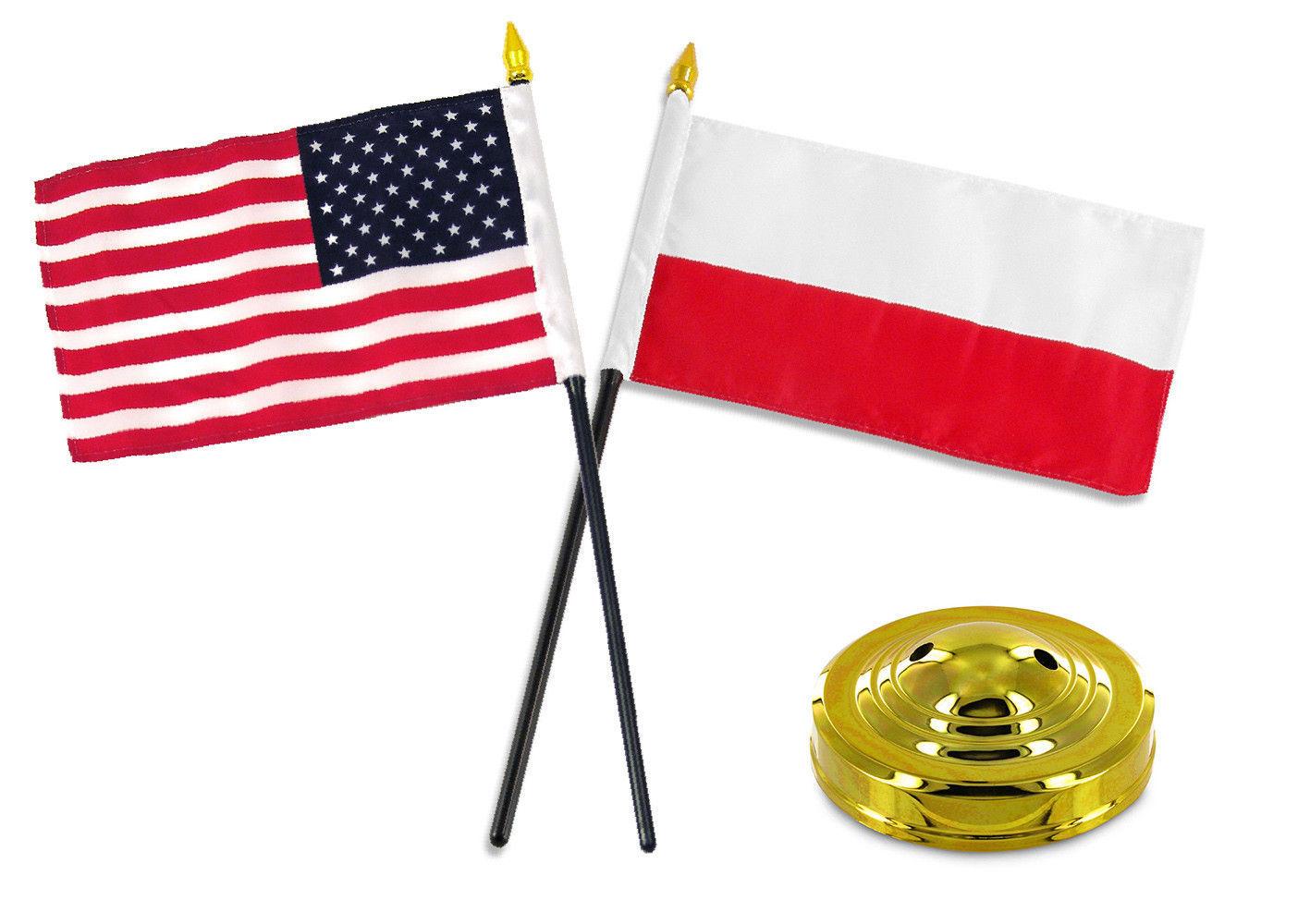 "12x18 12/""x18/"" Wholesale Combo USA American /& 5th USMC Marine Division Stick Flag"