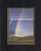 Standing on promises . . . 8 x 10 Inches Biblical/Religious Verses set in Double - $11.14
