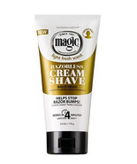 Magic Light Fresh Scent Razorless Cream Shave Bald Head Razor Bump 6oz -... - $8.22