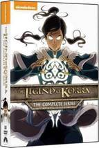 The Legend of Korra Complete Series Season 1 2 3 4 Collection DVD 1-4 New - $28.95