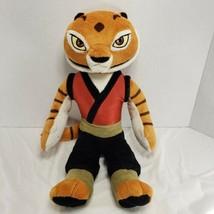 "Tigress Plush Kung Fu Panda Kohls Cares 14"" Tall Dreamworks 2008 Stuffed Animal - $16.44"