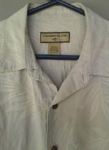 Caribbean joe size large 100% silk shirt - $9.89