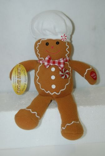 PBC Chantilly Lane G5007 Brite Spots Gingerbread Boy We Wish You Merry Christmas
