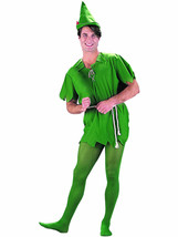 Charades Lost Boy Peter Pan Storybook Elf Adult Mens Halloween Costume 8... - $38.43