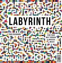 Labyrinth: Find your way through 14 magical mazes [Hardcover] Guignard, ... - $9.89