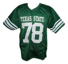 Krimm #78 Necessary Roughness Texas State New Men Football Jersey Green Any Size image 4