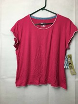 MukLuks Women's Pajama Top Color: Red  Size : L - $16.65